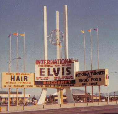 International Hotel, Las Vegas